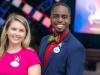 Nieuwe Walt Disney World Resort Disney-ambassadeurs tijdens de viering van de 50e verjaardag