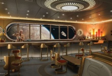 Disney Cruise Line - Star Wars: Hyperspace Lounge en Star Wars Day at Sea