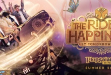 'The Ride to Happiness by Tomorrowland' in Plopsaland De Panne
