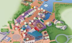 Disney Village Map