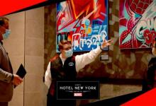 Een episch verblijf in Disney's Hotel New York - The Art of Marvel