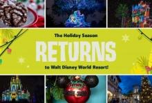 #HalfwaytotheHolidays Vrolijke gebeurtenissen in de Disney Parken